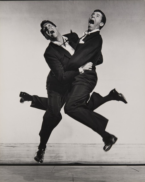 , 'Dean Martin and Jerry Lewis,' 1951, Jeu de Paume
