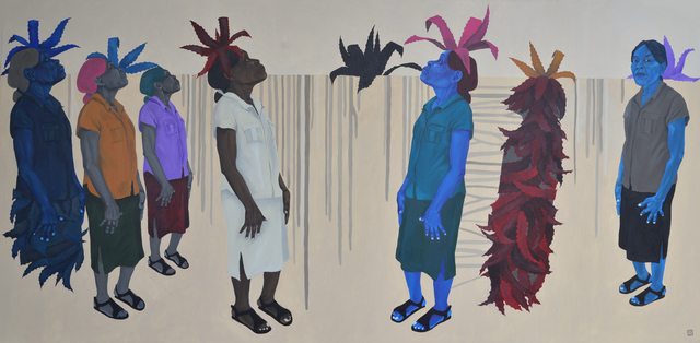 , 'Nou la ansanm,' 2019, Le Centre d'Art d'Haïti