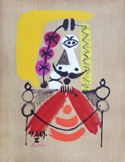 Pablo Picasso, '14.3.69 II Portraits Imaginaires', 1969, Kings Wood Art