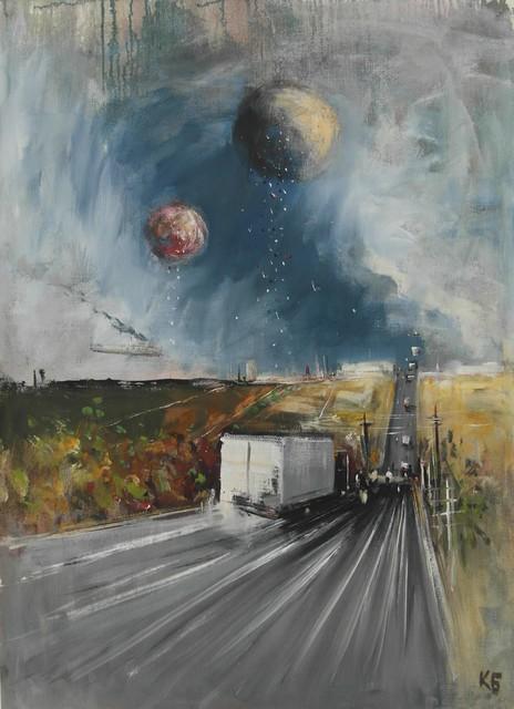 """, '""""The Road 13"""",' 2016, Krokin Gallery"""