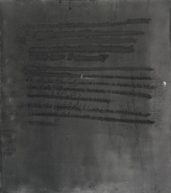 , 'Trotsky,' 2015, Anita Schwartz Galeria de Arte