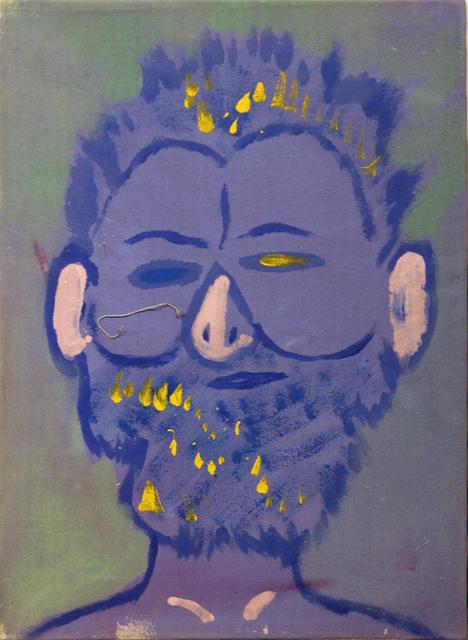 Isaiah Zagar, 'Blue Isaiah II', 1984, Philadelphia's Magic Gardens
