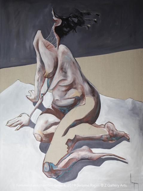 Jerome Rapin, 'Femme Dans Chambre Grise 4', 2019, Z Gallery Arts