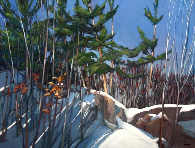 , 'Snow Pines,' , Loch Gallery