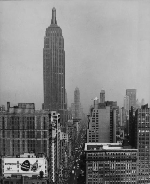 , 'Empire State Building,' ca. 1947, Tibor de Nagy