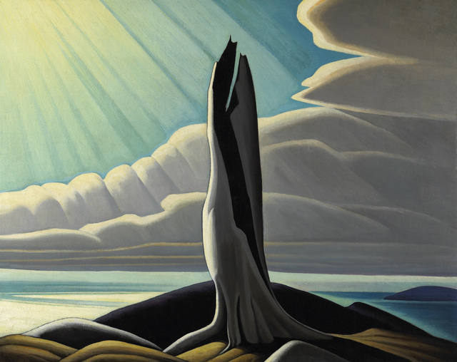 , 'North Shore, Lake Superior,' 1926, Hammer Museum