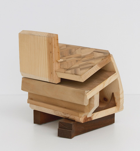 Emily Feinstein, 'Arthur Loeb's Playhouse ', 2017, Sculpture, Mahogany, pine, poplar, and veneer, Park Place Gallery