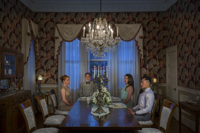 , 'Candle Dinner,' 2015, HAZA