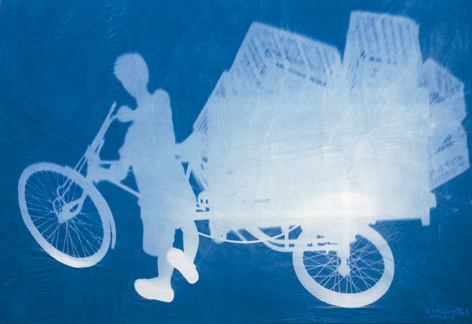 , 'Delivery Bicyle,' 2011, Eli Klein Gallery