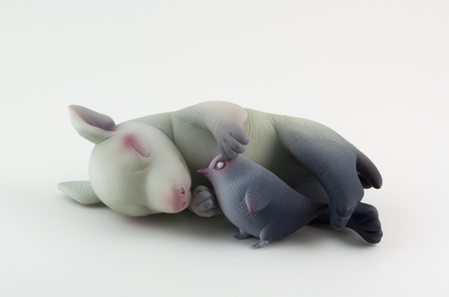 , 'Cuddle,' 2015, Abmeyer + Wood Fine Art