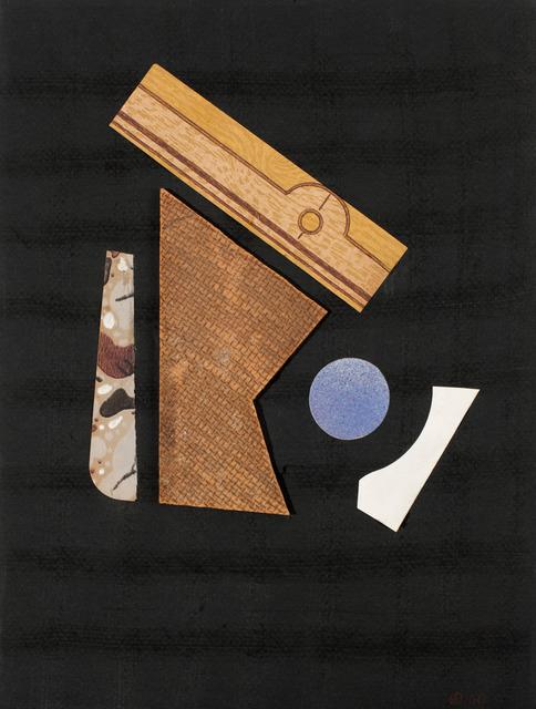 , 'Collage sin título,' 1958, Leon Tovar Gallery