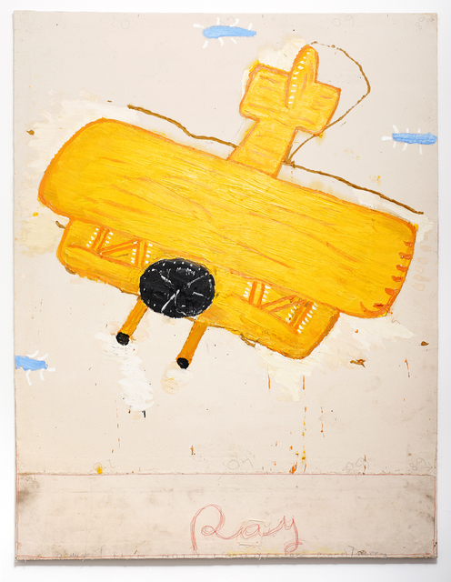 , 'Ray's Yellow Plane (Film Notes),' 2013, UNION Gallery