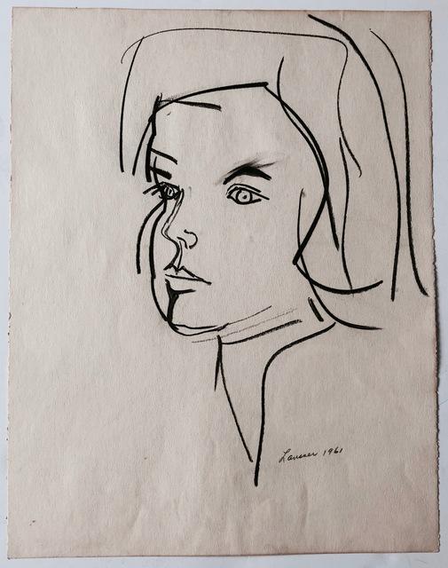 , 'Untitled (Portrait),' 1961, Joseph K. Levene Fine Art, Ltd.
