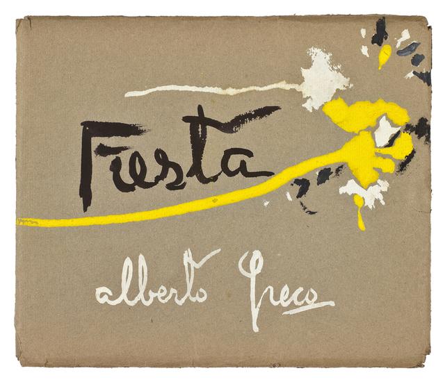 , 'Fiesta,' 1950, Del Infinito