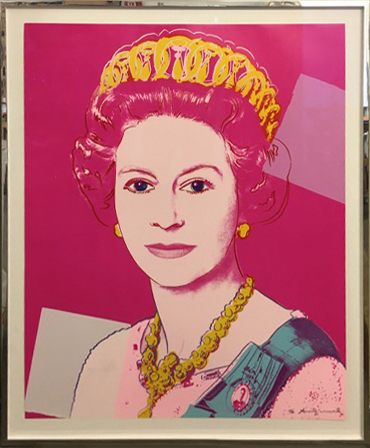 , 'Queen Elizabeth II of the United Kingdom,' 1985, Galerie Kronsbein