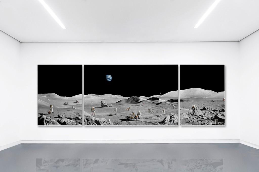 Michael Najjar / lunar explorers - outer space