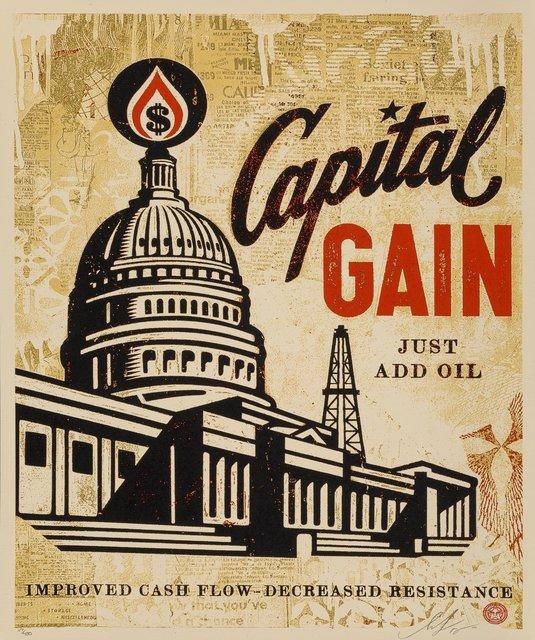 Shepard Fairey, 'Capital Gain', 2015, Heritage Auctions