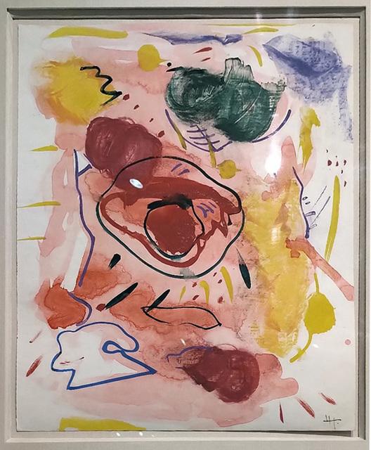 Hans Hofmann, 'Untitled', ca. 1945, Painting, Gouache on Paper, Fischtein Fine Art