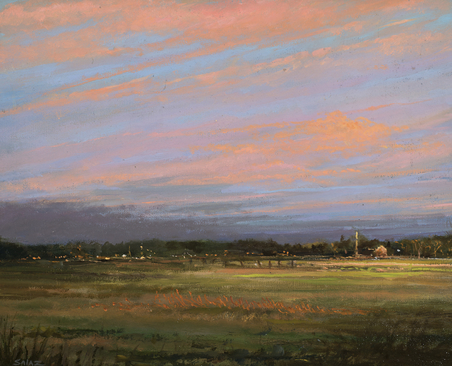 , 'Sunset Looking East - Hampton, NY,' 2014, Rehs Contemporary Galleries