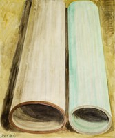 , 'Two Color Tubes,' 2013, ShanghART