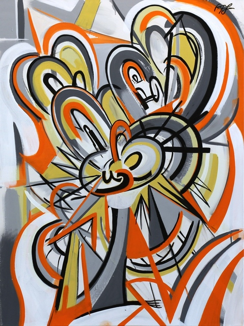Frankie Alfonso, 'Orange Swirl', 2016, Artspace Warehouse