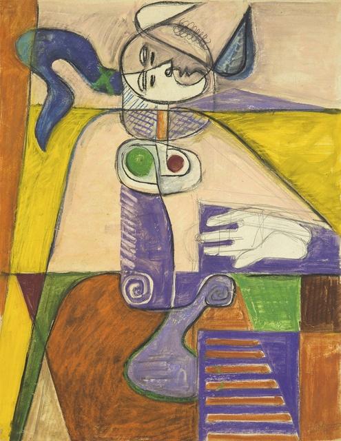 , 'Taureau,' 1955, Galerie Zlotowski