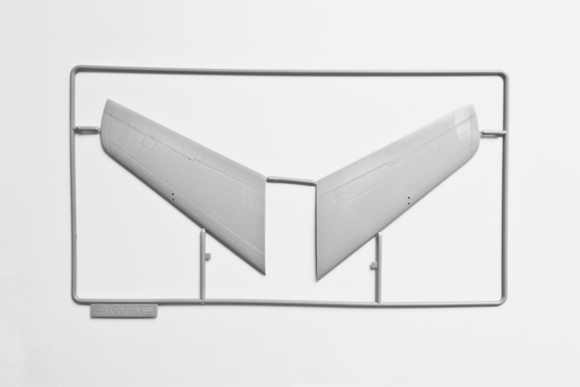 ", 'Unassembled F-86 Sabre Wings, from the ""Stasis"" series,' 2011, Sanatorium"