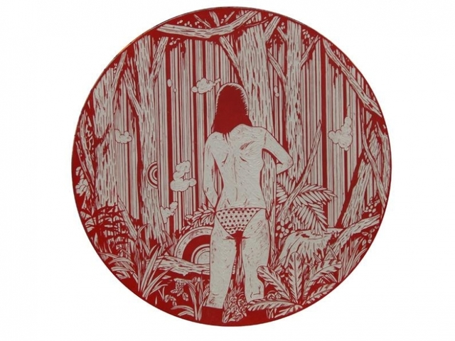 , 'Dreamy Gaze #1,' 2008, Mark Moore Fine Art
