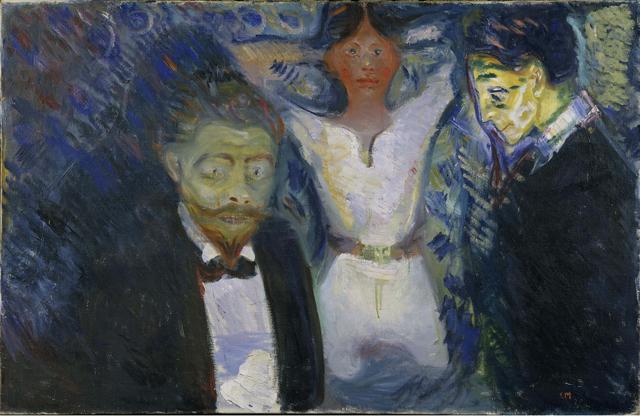 , 'Jealousy,' 1913, Museo Thyssen-Bornemisza