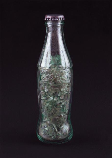 ", 'Formalizing their concept:  Luis Camnitzer's ""Coca Cola Bottle filled with Coca Cola Bottle"",' 2016, Josée Bienvenu"