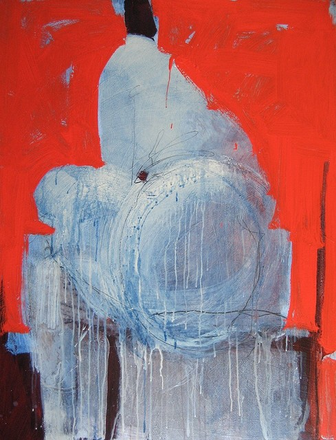 , 'Blue Seated ,' 2018, ÆRENA Galleries and Gardens