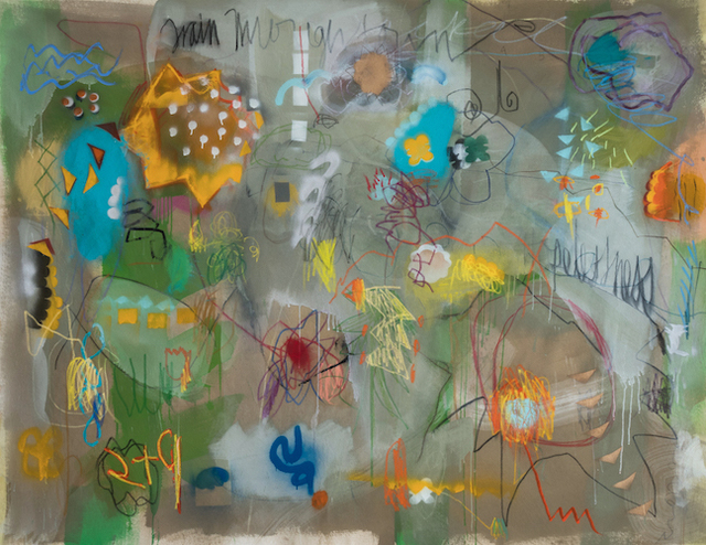 , 'Train Through Town,' 2018, Madison Gallery