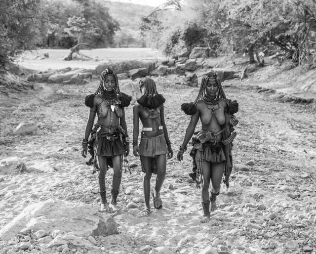 David Yarrow, 'Himba Girls', ca. 2015, Isabella Garrucho Fine Art
