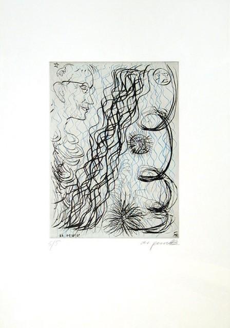 A.R. Penck, 'Jetset 4 Brillenträger', Unknown, Kunzt Gallery