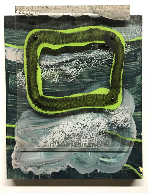 , 'Garrett Klein, Study of Forms: Green,' 2017, Massey Lyuben Gallery