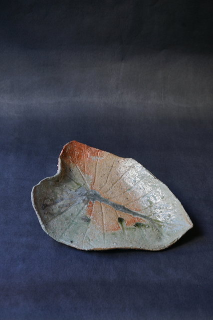 Shiro Tsujimura, 'Leaf Plate (Iga-Style)', Kami ya Co., Ltd.