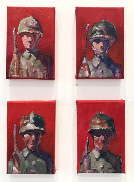 , 'Soldier # 2 - 5,' 2018, Coagula Curatorial