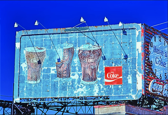 Mitchell Funk, 'Coca Cola Coke sign at Coney Island', 1977, Robert Funk Fine Art