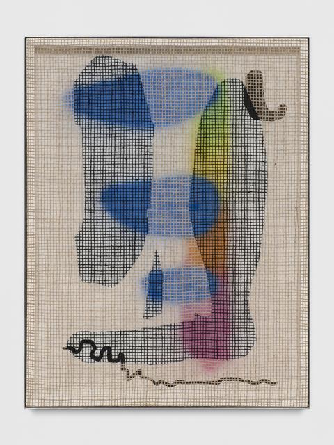 , 'Floorplan Desire Painting (Tip Toe),' 2017, Wentrup