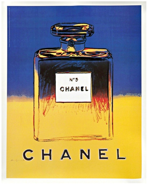 Andy Warhol, 'Chanel No. 5 ', ca. 1997, Posters, Offset lithograph mounted on linen backing. Signed on the plate, Alpha 137 Gallery
