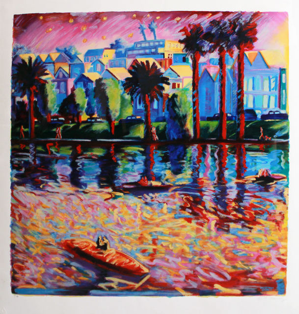 , 'Echo Park Three,' 1990, Robert Berman Gallery