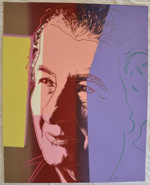 Andy Warhol, 'Golda Meir II.233 from Ten Portraits of Jews of the Twentieth Century portfolio', 1980, Hamilton-Selway Fine Art