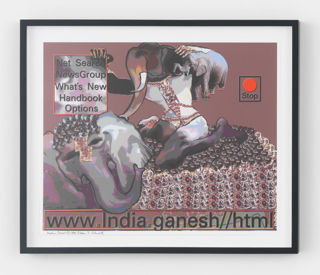 , 'India.Ganesh,' 1984, Magenta Plains