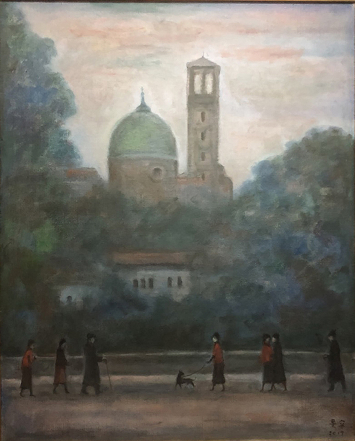 , 'Italian church,' 2017, Yuan Ru Gallery