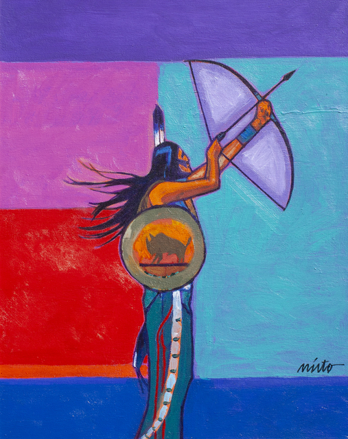 John Nieto, 'Plains Archer', 2018, Ventana Fine Art