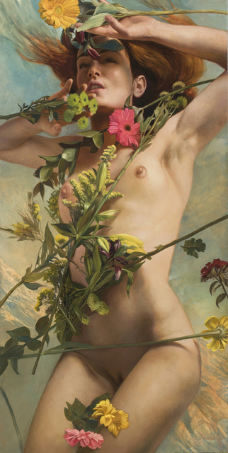 , 'Venus Clothed in Floers,' 2018, Zhou B Art Center