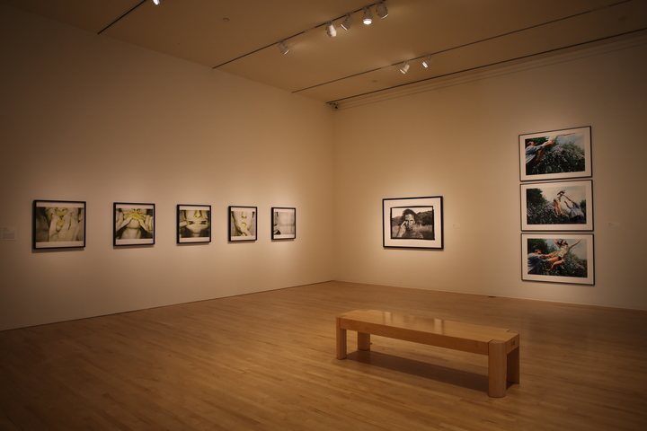 Installation shot of This Is Not a Selfie: Photographic Self-Portraits from the Audrey and Sydney Irmas Collection.