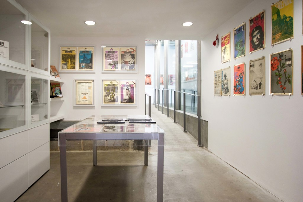 Reading Room by MA Curating and Collections students Gaia Giacomelli, Chinmayi Swami, Max Jones, Maria Kobzareva, Paul Davey, and Ryan Blakeley