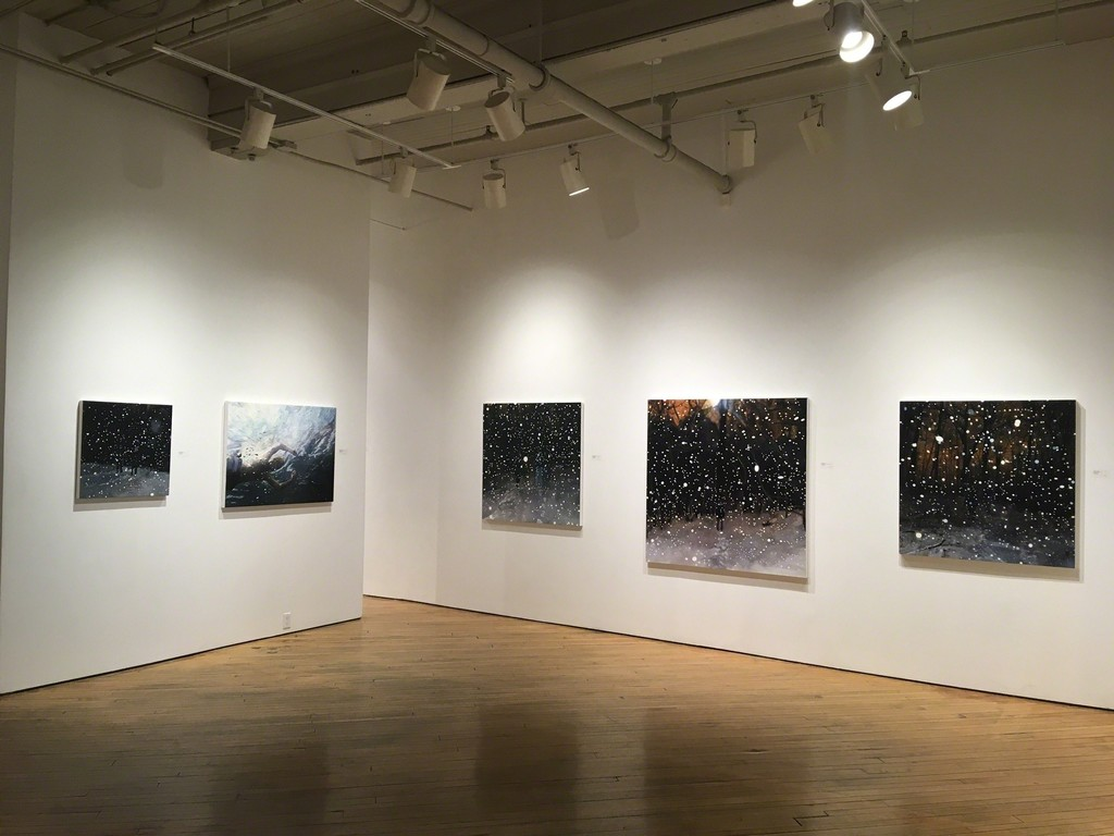 Snow paintings and 'Through a Glass Darkly'