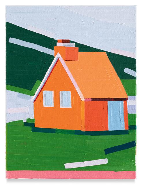 , 'Orange House,' 2019, Miles McEnery Gallery